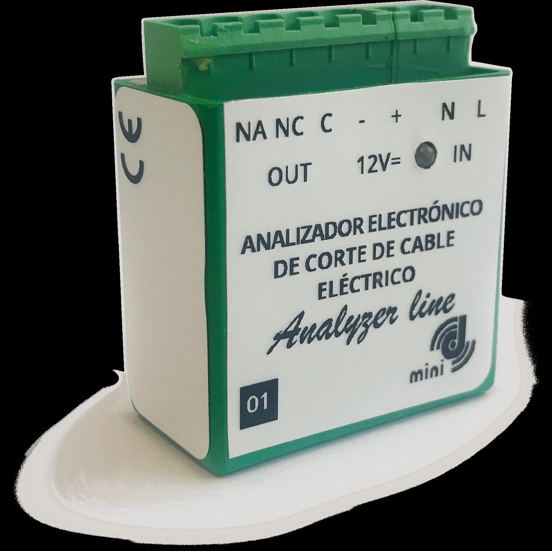 Dispositivo robo cableado eléctrico Analizador electrónico de corte de cable