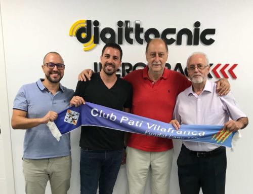 Digittecnic nou patrocinador del Club Patí Vilafranca